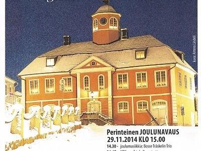 Wanhan Porvoon joulun avaus la 29.11.14